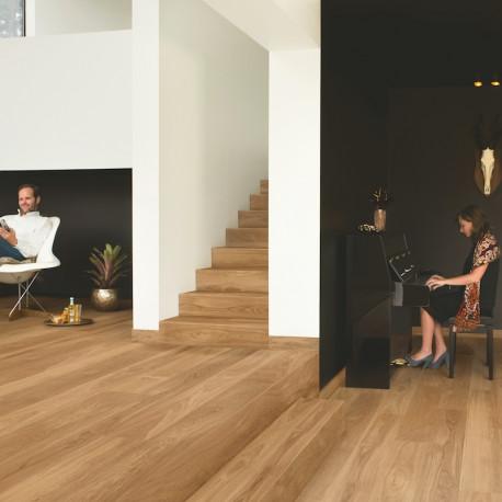 "QUICK STEP - Palazzo - Parquet contrecollé ""PAL1338 chêne héritage naturel mat"""