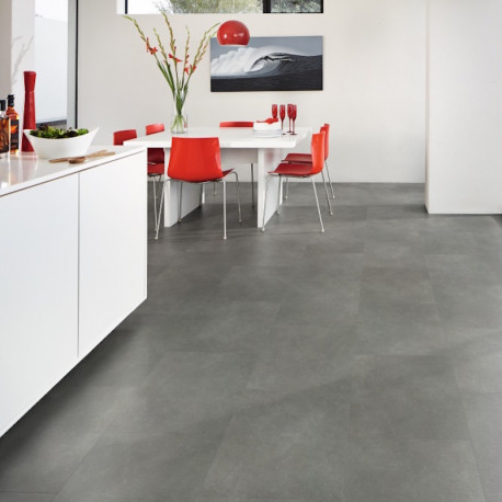 LOOSELAY Nisida - Dalles vinyles PVC auto-plombantes - Stone - Designflooring