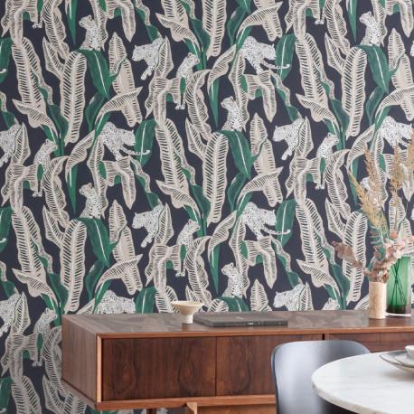 Papier peint Jagar Emerald -OMBRA- Masureel OMB101