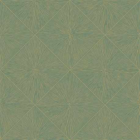 Papier peint Perception Bleu -UTOPIA- Casadeco UTOP85136614