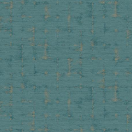 Papier peint Ficion Turquoise -UTOPIA- Casadeco UTOP85156387