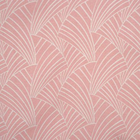 Rideau à œillets motif rose clair - ARDECO - Linder