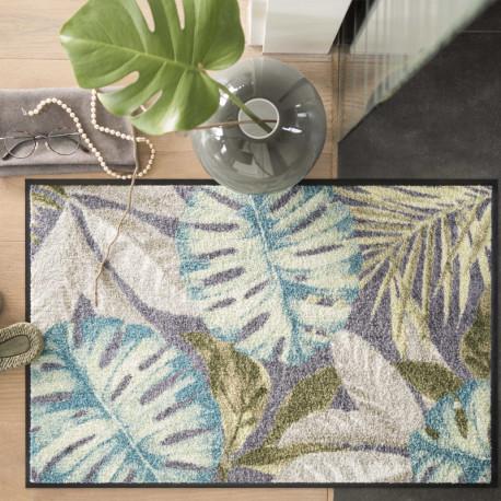 Tapis de propreté - paillasson tropical COCO ANTHRAZIT gris - EFIA