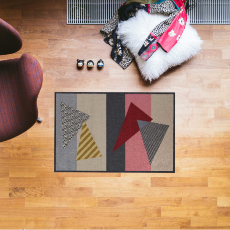 Tapis de propreté - paillasson Triangle Stripes - EFIA