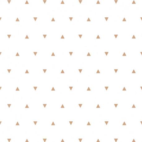 Papier peint à motif BERMUDA TRIANGLE beige OUP101991111 - OUR PLANET - Caselio