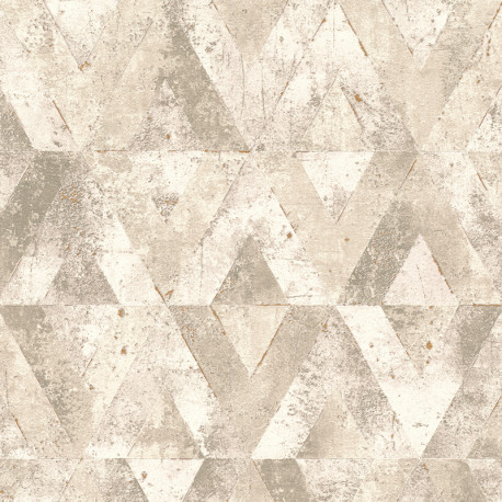 Papier peint motifs MAYA beige 535525 - YUCATAN - RASCH