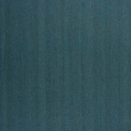 Papier peint Dandy Uni Gallant bleu turquoise - BLOSSOM - Casamance - B72341462