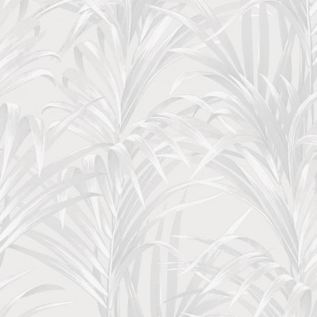 Papier peint Fougères blanc - 1930 - Casadeco - 28920101