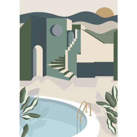 Panoramique Archways kaki - LABYRINTH - Caselio - LBY102146075