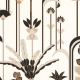 Papier peint Ephemeral beige et doré - LABYRINTH - Caselio - LBY102090020