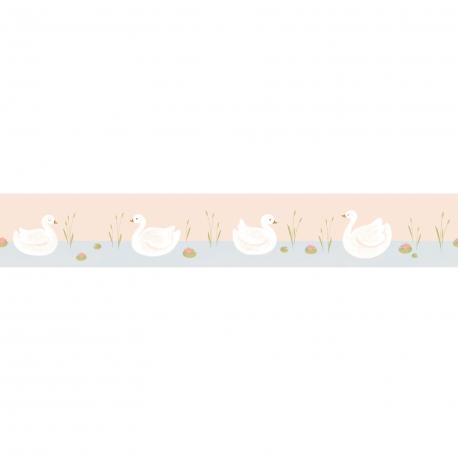 Frise enfant Léonie bleu - ROSE & NINO - Casadeco - RONI85516220