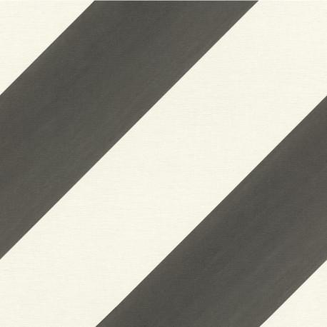 Papier peint Rayure noir et blanc - BAMBINO - Rasch - BBN531626