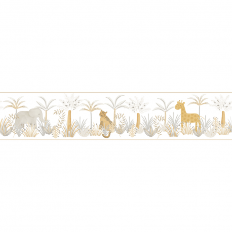 Frise enfant Léon beige - ROSE & NINO - Casadeco - RONI85651644