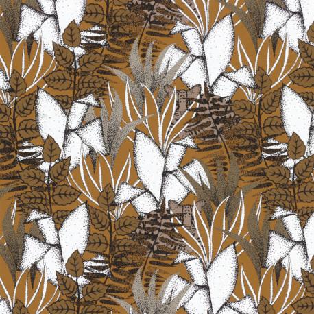 Papier peint Tigris savane - ORPHEE - Casamance - 74731632