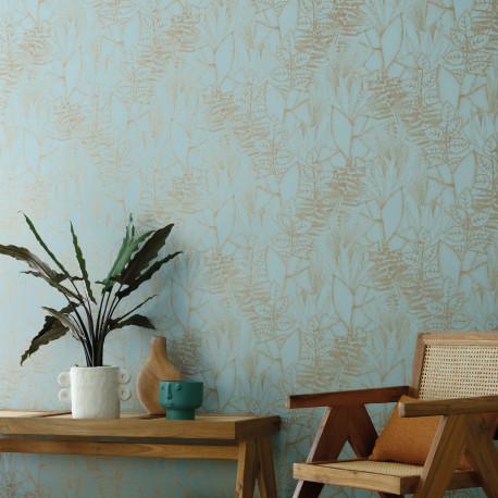 Papier peint Altaica celadon - ORPHEE - Casamance - 74710712