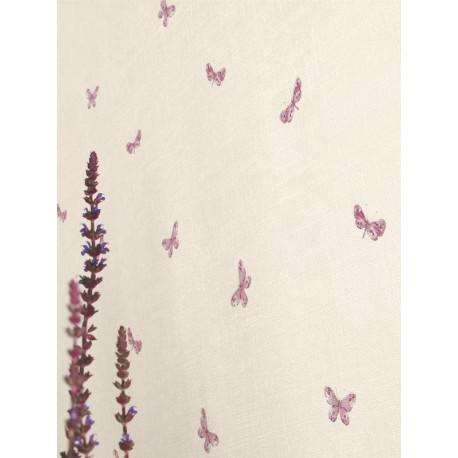 Papier peint Papillons prune - CAVAILLON - Caselio - CAV65005055