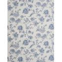 Papier peint à motifs Fleurs bleu - Chantilly - Casadeco