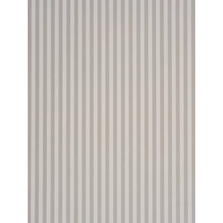 Papier peint Rayures gris - DOUCE NUIT - Casadeco