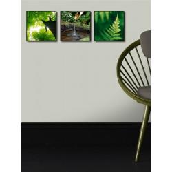 Box Art Forêt - 3 toiles 20x20cm - Graham & Brown