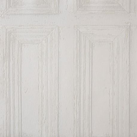 Papier peint Moulure Porte blanc - METAPHORE - Caselio - MTE65660006