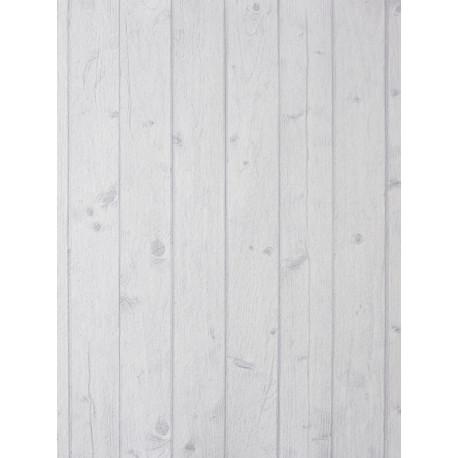Papier peint Teck Ebène blanc - METAPHORE - Caselio - MTE65651018