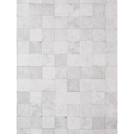 Papier peint Carreaux de Pierre blanc cassé - METAPHORE - Caselio - MTE65640000