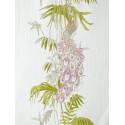 "Papier peint AMAZONIA ""paon"" rose et vert par Caselio"