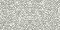Tapis motif floral couleur